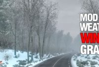 Download Mod Weather Ets2 Frosty Winter V7.3 Musim Salju Gratis ! 2