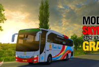 Download Mod ETS2 V1.36 Seri Bus Skyline Paling Terbaru Gratis ! 3