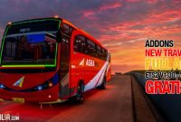 Addons Marcopolo Mod Bus New Travego FULL AKSESORIS, Gratis ! 1